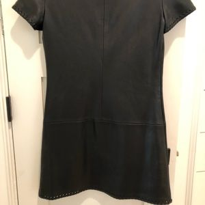 Zara Dresses - Zara leather dress